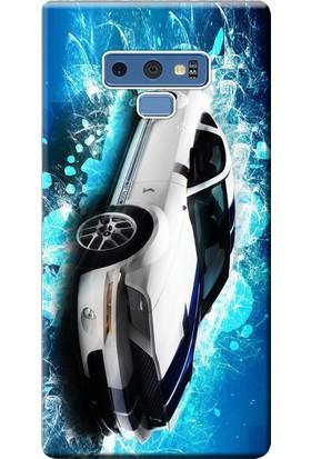 Kılıf Merkezi Samsung Galaxy Note 9 Kılıf SM-N960F Silikon Baskılı Shelby STK:293
