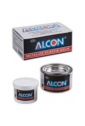 Alcon Metalize Plastik Çelik 100 Gr. Kutu 2220