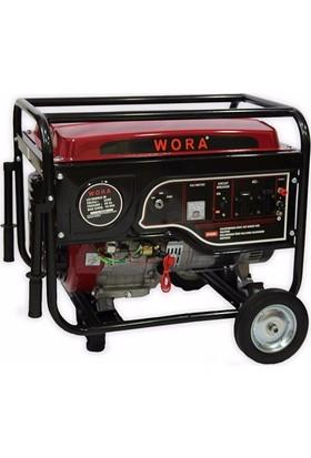 Wora Monofaze 10 Kva Marşlı Ve İpli Benzinli Jeneratör
