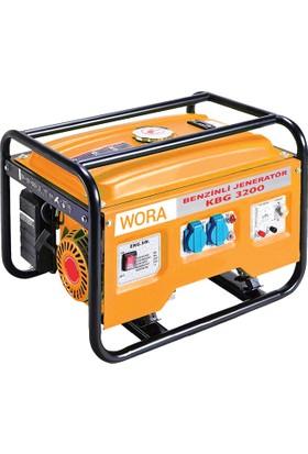 Wora Monofaze 3 Kva İpli Portatif Benzinli Jeneratör