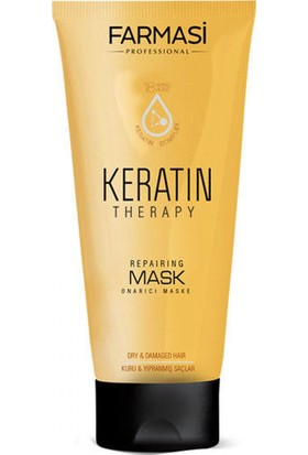 Farmasi Professional Keratin Therapy Onarıcı Şampuan+Keratin Therapy Onarıcı Saç Maskesi