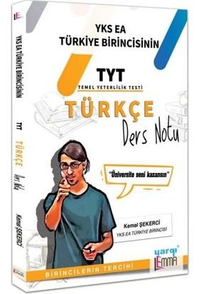 Yargı Lemma YKS TYT Türkçe Ders Notu - Kemal Şekerci