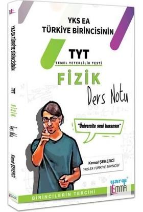 Yargı Lemma YKS TYT Fizik Ders Notu - Kemal Şekerci
