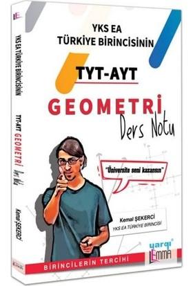 Yargı Lemma YKS TYT-AYT Geometri Ders Notu - Kemal Şekerci