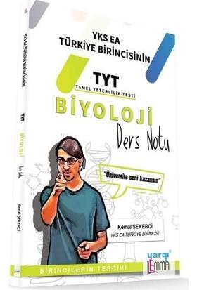 Yargı Lemma YKS TYT Biyoloji Ders Notu - Kemal Şekerci