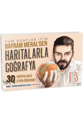 Benim Hocam Yayınları Tüm Adaylar İçin Haritalarla Coğrafya - Bayram Meral