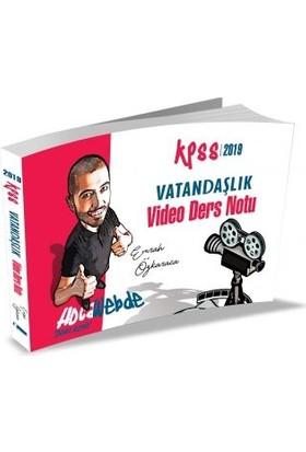Hocawebde Yayınları 2019 KPSS Vatandaşlık Video Ders Notu - Emrah Vahap Özkaraca