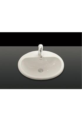 Creavit Tezgah Üstü Lavabo 45X52 Cm Beyaz