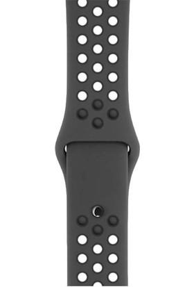 Apple Watch Seri 3 Nike+ 38mm Uzay Grisi Alüminyum Kasa ve Antrasit/Siyah Nike Spor Kordon - MTF12TU/A