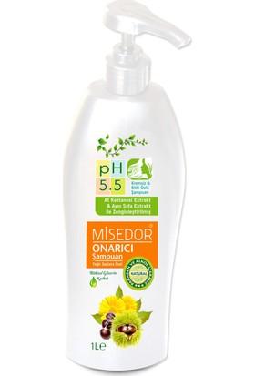 Misedor Yağlı Saçlar için Kremsiz Onarıcı Şampuan 1000 ml