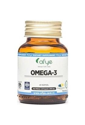 Afye Omega-3 Balık Jelatin Kapsül