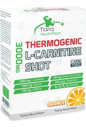 Torq Nutrition 3000 Mg Thermogenic Carnitine Shot 8 Adet Portakal Aromalı