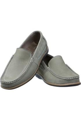 Günsel Kum Beji Nubuk Burnu Dikişli Günlük Erkek Ayakkabı
