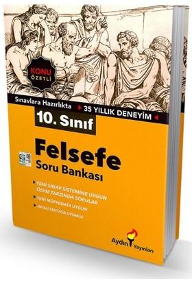 Aydın Yayınları 10.Sınıf Felsefe Konu Özetli Soru Bankası