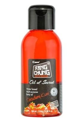 Oil of Secret - Çilek Aromalı Masaj Yağı - 100 ml