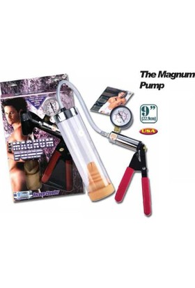Magnum Pump Metal Aksa mlı Gelişmiş Penis Pompası``