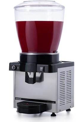 Samixir M22 Soğuk İçecek Dispenseri, 22 L, Analog, Panaromik, Inox