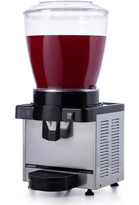 Samixir M22 Soğuk İçecek Dispenseri, 22 L, Dijital, Panaromik, Inox