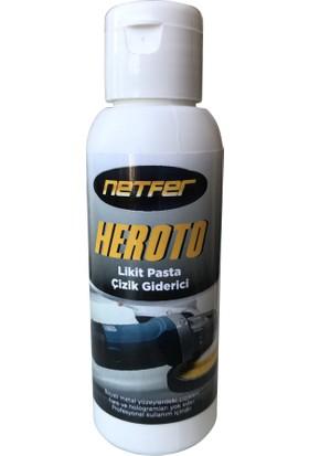 Netfer Heroto Oto Likit Pasta Çizik Giderici - 100gr