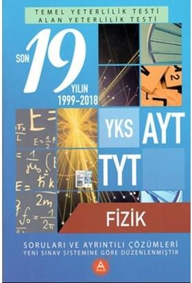 A Yayınları Yks Ayt Tyt Fizik Son 19 Yılın Çıkmış Soruları Ve Ayrıntılı Çözümleri-Yeni