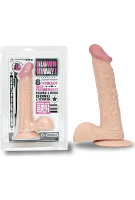 Blown Away Gerçekçi Dildo - Ten