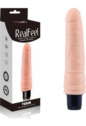 Real Feel 19 cm Gerçekçi Dokulu Vibratör I