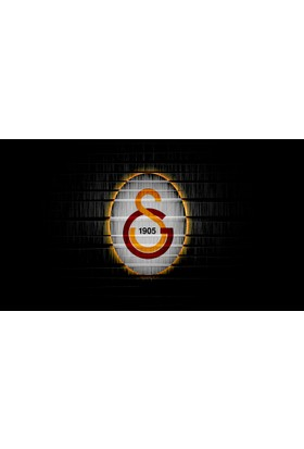 Yaylera Galatasaray Logo Temalı Kanvas Tablo 70*100 cm