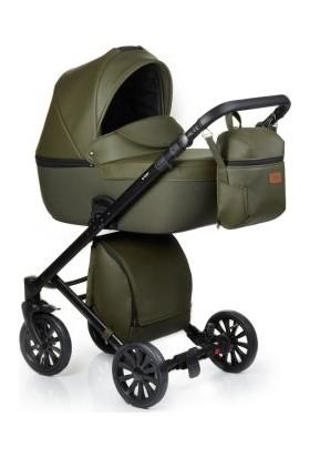 Anex® Cross 2'si 1 Arada Bebek Arabası Set - Safari