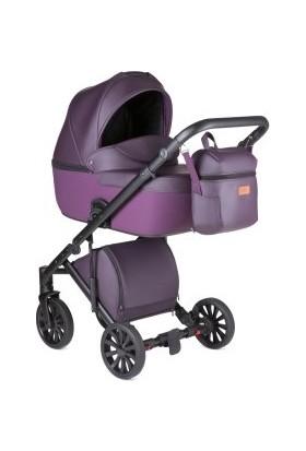 Anex® Cross 2.0 - 2'si 1 Arada Bebek Arabası Set - Mürdüm