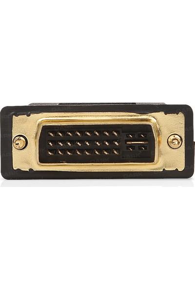 Dark HDMI - DVI-I (24+5 Pin) Dönüştürücü (HDMI dişi - DVI-I erkek)