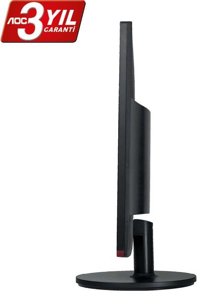 """AOC G2460VQ6 24"""" 75 Hz 1ms (Analog+HDMI+Display) FreeSync Full HD Oyuncu Monitörü"""