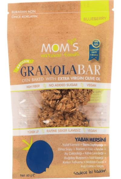 Mom'S Natural Foods Yaban Mersinli granola Bar 60 gr