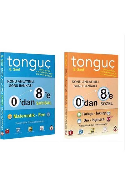 Tonguç Akademi 8. Sınıf 0`Dan 8`E Konu Anlatımlı Soru Bankası Seti