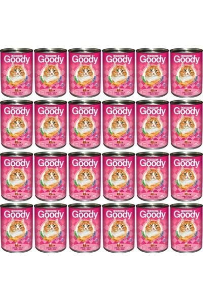 Goody Kuzu Etli Pirinçli Kedi Konservesi 24 x415 Gr