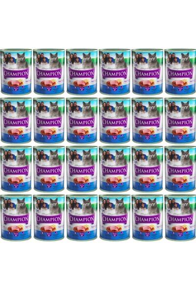 Champion Ton Balıklı Kedi Konservesi 24 x415 gr x 24