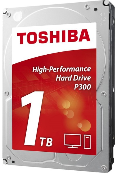 "Toshiba P300 High Performance 3.5"" Sata 3.0 1TB Dahili Sabit Disk (HDWD110UZSVA)"