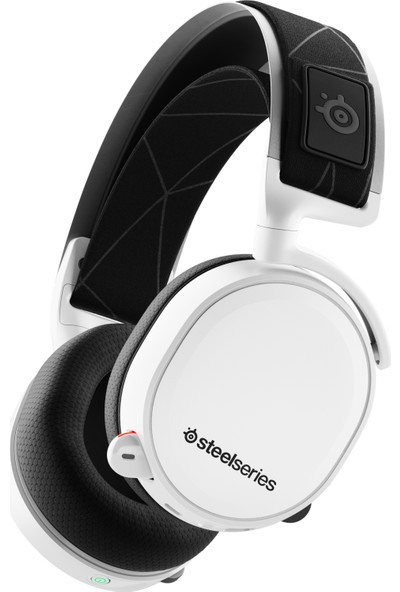 SteelSeries Arctis 7 Beyaz 7.1 Kablosuz Oyuncu Kulaklığı – 2019 Edition