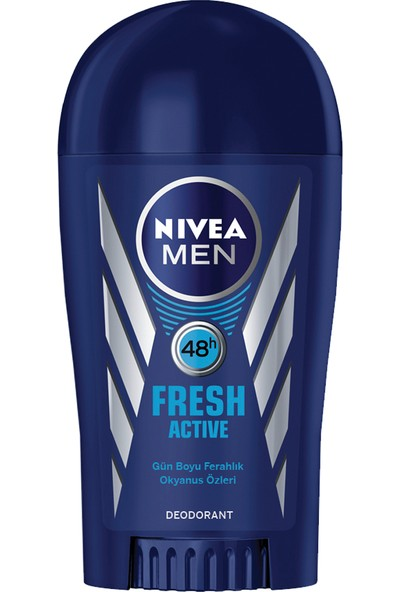 Nivea Men Fresh Active Deo Stick 40 ml Erkek