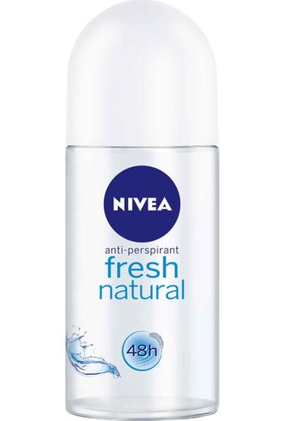 Nivea Fresh Natural Anti Perspirant Roll-On Deodorant (50Ml)