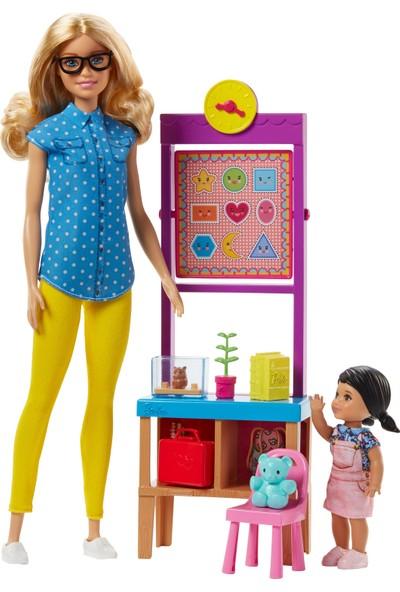 Barbie Barbie Ve Meslekleri Oyun Setleri Öğretmen