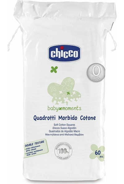 Chicco Baby Moments Pamuk 60 Adet