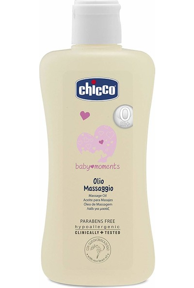 Chicco Baby Moments Masaj Yağı 200 ml