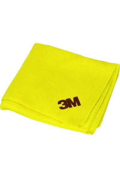 3M Sarı Microfiber Detaylı Araç ve Genel Temizlik/Cila Bezi 39016