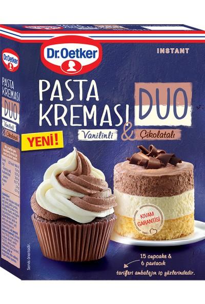 Dr. Oetker Duo Pasta Kreması Vanilinli & Çikolatalı 158 gr