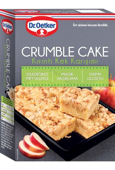 Dr. Oetker Crumble Cake Kırıntı Kek Karışımı 325 gr
