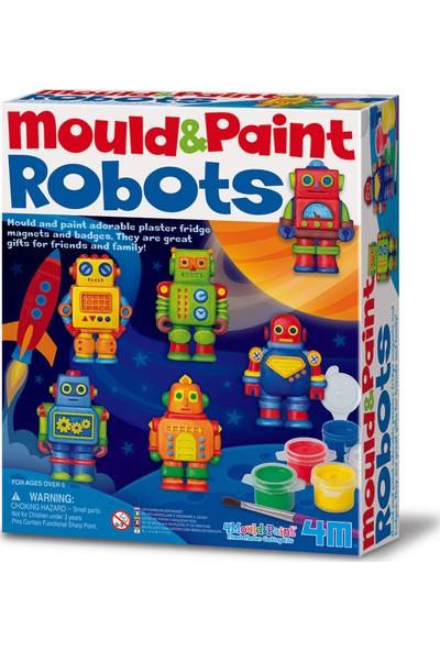 4M Kalıp Boyama - Robotlar