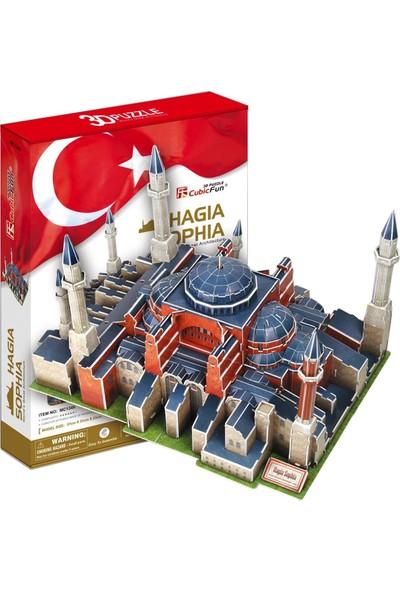 Cubic Fun 3D 225 Parça 3 Boyutlu Puzzle Ayasofya