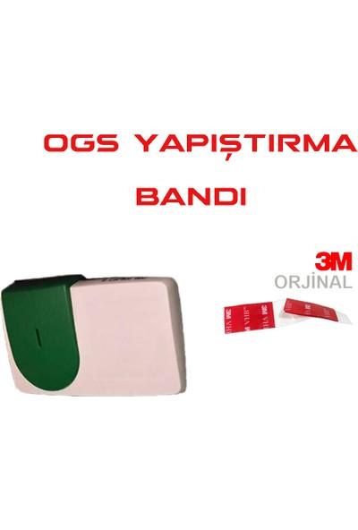 Çift Taraflı Bant 3Cm X 4 Cm OGS Montaj Bandı (VHB) (Şeffaf)