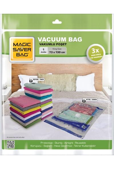 Magic Saver Bag Vakumlu Hurç Poşet Jumbo 73X130
