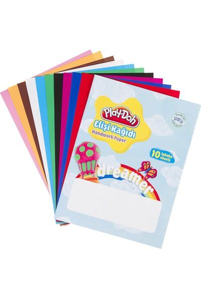 Play-Doh Elişi Kağıdı Zarflı 10 Renk Ek001